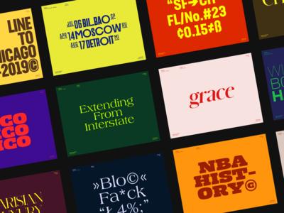 Typography Inspiration List
