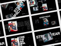 Streetwear Impact — Survey Cover Screen