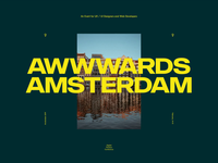 We are attending Awwwards Amsterdam
