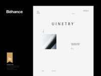 Uinetry — Featured Work on Behance
