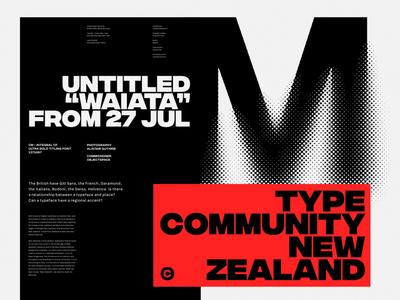 Type Community New Zealand