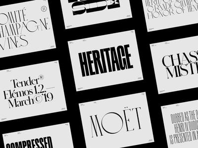 Typography Inspiration | April 2019 Font Selection colophon klim future clean whitespace design minimal fonts collection inspiration fonts typography