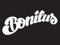 Bonilus lettering