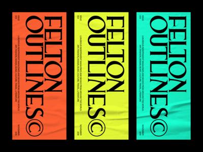 FELTON OUTLINES© COLORS