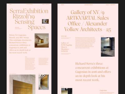 Serra Rizzoli Sensing Spaces