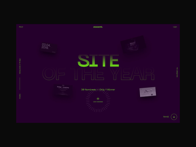 Awwwards Annual Awards 2019 animation interactive website design color typography awwwards website