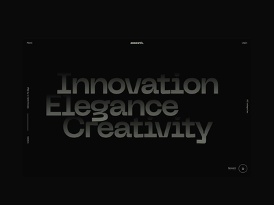 Awwwards Annual Awards 2019 interactive typography layout website web interaction animation interaction awwwards