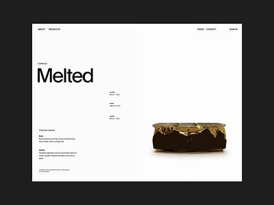 Laborati Ginori header whitespace grid design minimal website clean layout typography