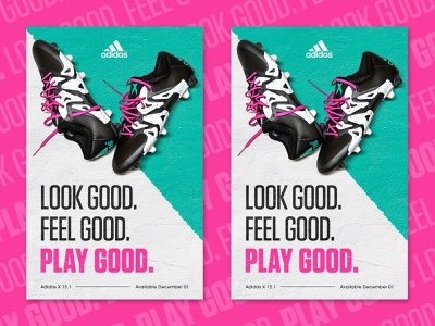 Adidas Cleat Ad sports design football sports bold photography typography poster cleats adidas