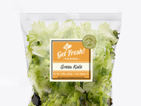 Get Fresh Farms Packaging – Front