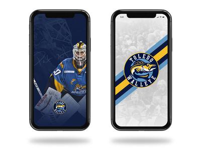 Toledo Walleye Phone Wallpaper