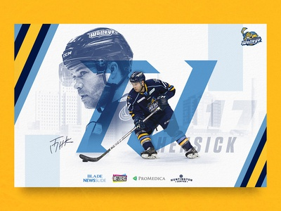 Walleye Player Poster