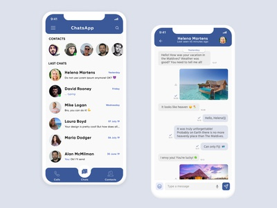 Daily UI Challenge 013 Direct Messaging