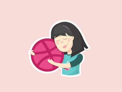 Dribbble Playoff! Sticker