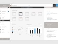 Wordpress dashboard retina gray