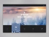 Weather Dashboard  / Global Outlook Winter