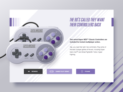 Snes Controllers video game gaming clean super nintendo ux ui widget pads controllers nintendo snes