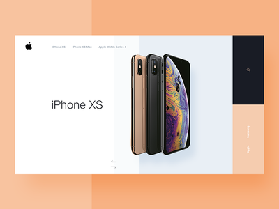 iPhone XS widget product design app ecommerce widget iphone x iphone xs iphone ios apple