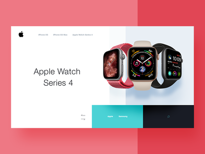 Apple Watch Series 4 widget product widget apple watch series 4 apple watch ios ecommerce design apple app
