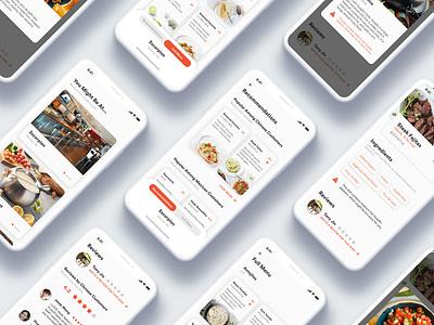 Eatxplore - Breaking the Cultural Barriers of Food reactjs code travel explore framer menu order culture restaurant food iphone x mockup iphonex framerx design ui