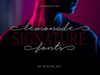 Lemonade Signature Font