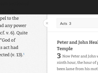 Bible Reference Drawer