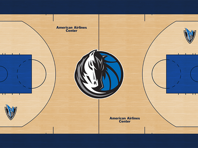 Mavs New Court