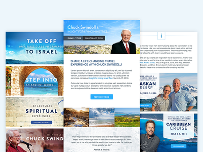 Inspiration Cruises - Email Templates templates email