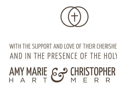 Invitations print wedding marriage typography