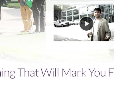 That Will Mark You purple web lato video
