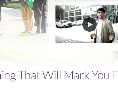 That Will Mark You purple web lato video