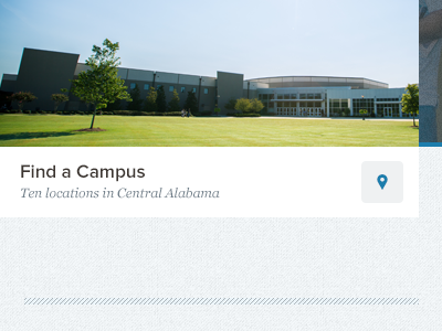 Find a Campus church location blue proxima nova
