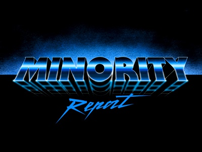 Minority Report Retro-futuristic Type precog cruise tom spielberg steven report minority retrofuturistic retrofutur