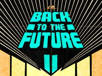 Back To The Future II Title