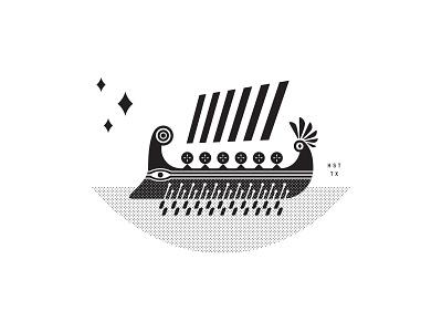 Trireme Boat mediterranean ship trireme boat