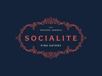 Socialite - Restaurant Identity Design