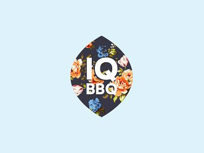 IQ BBQ Logo/Identity restaurant logo restaurant bbq chintz
