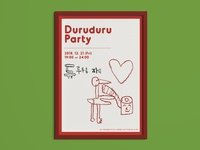 Duruduru Party Poster