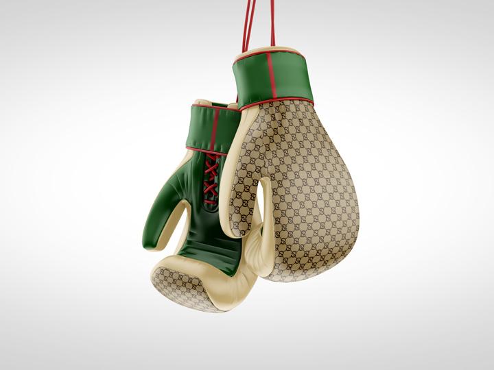 Antoniobrasko braskodesign gucci boxinggloves modern luxury fashion streetwear art design 3d graffit