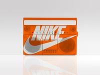 Nike Swoosh Boombox