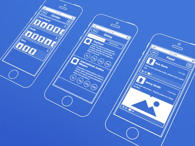 iOS Wireframes