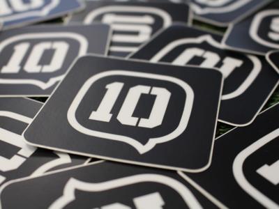10 Stickers