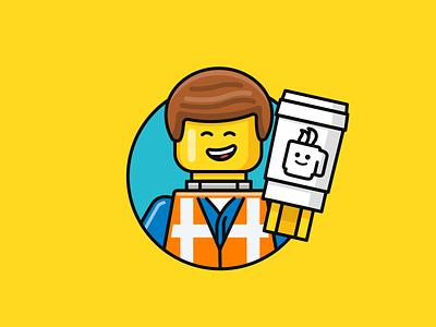 Lego Coffee bricks illustration coffee lego nudds