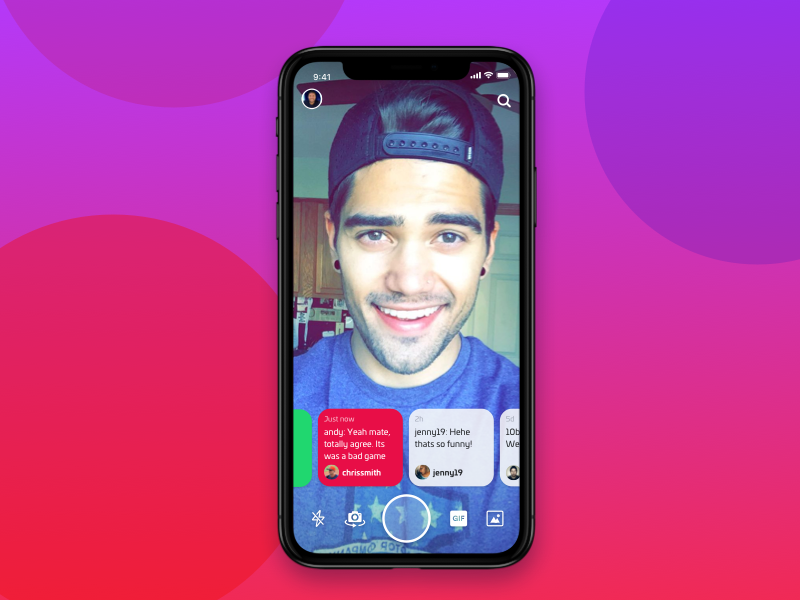 iPhone X Camera messaging apple launch search flash list chat camera x iphone nudds