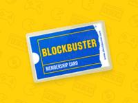 Blockbuster card nudds