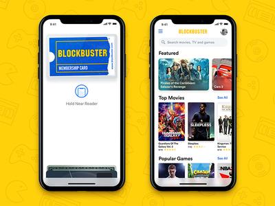 Blockbuster App search featured ios 11 films iphone x pay apple netflix list movie blockbuster nudds