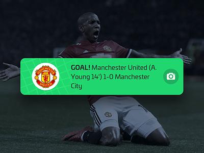 Goal Remark card alert update remark score net app sport football soccer goal nudds