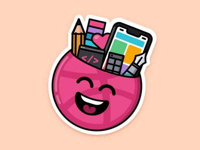Dribbble Playoff code iphone x pantone pencil sticker mule toolbar design designer playoff dribbble nudds