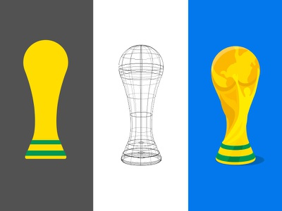 World Cup 2018 cup illustration sport trophy football world cup nudds