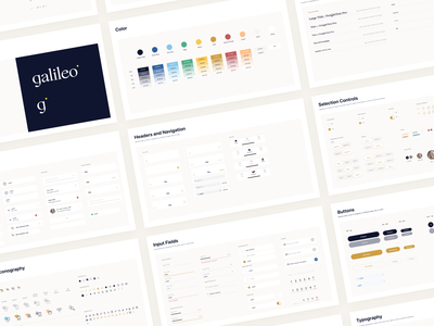 Design Library galileo color navigation buttons healthcare ios components guidelines ui kit design system nudds